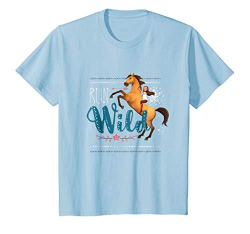 Kids DreamWorks Spirit Riding Free - Run Wild Kids T-Shirt
