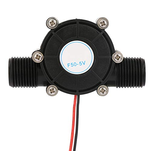 Jacksking Generador de energía hidráulica, Mini generador de Agua de Tubo DC generador hidráulico para la Carga de Radio LED(F50-5V)