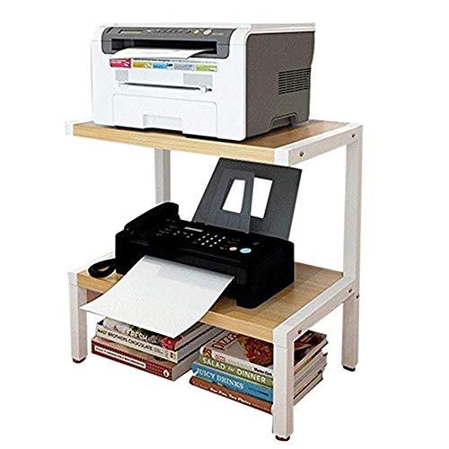 Gabinete para impresora Los estantes de impresora de dos niveles estantes de almacenamiento de impresora La fusión de la superficie de múltiples capas del archivo de función Estantería de oficina Esta