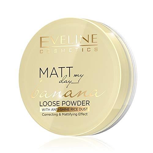 Eveline Cosmetics - Puder - Matt My Day Loose Powder Banana