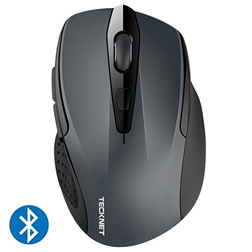 TeckNet Ratón Inalámbrico Bluetooth, Pro Wireless Mouse con Indicado