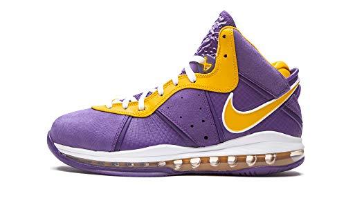 Nike Mens Lebron 8 DC8380 500 Lakers - Size 15