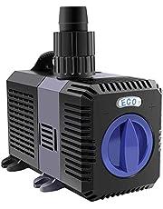 everfarel Eco Vijverpomp, filterpompen, waterpomp voor tuinvijvers, 3000/3600/4500/L/H