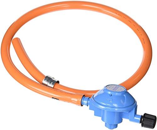 Campingaz 200977 - Kit Regulador, 29Mbar, para conexión a botella azul Campingaz, funcionen con bombonas recargables Campingaz