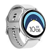 Reloj inteligente ECG Monitor de frecuencia cardíaca Bluetooth...