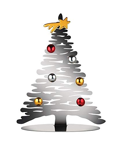 Alessi BM06/30 Bark for Christmas Weihnachttsschmuck,Edelstahl 18/10