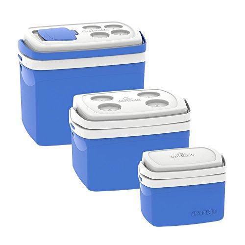 Combo Caixa Térmica Tropical 32L/12L/5L, Soprano, 0700, Azul, Grande