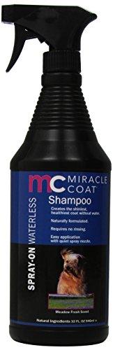 Miracle Coat Spray on Waterless Dog Shampoo, 32-Ounce