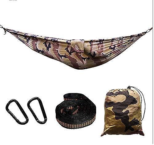 LFF.FF Hamac, Double hamac extérieur - hamac dortoir du Parc - hamac de Camping - hamac en Toile de Parachute (300  200CM)