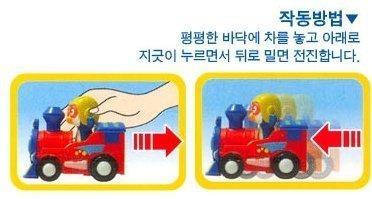Pororo & Friends Train_Car_Plane