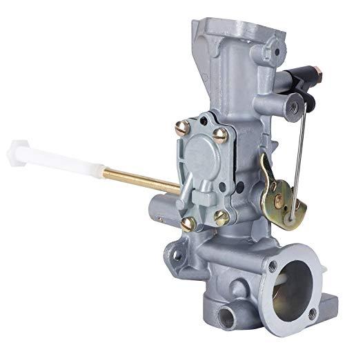 FOLOSAFENAR Accesorio de Repuesto Carburador Material de Aluminio Exquisita artesanía Carburador de desbrozadora Resistente al Desgaste para 130202 1122 02