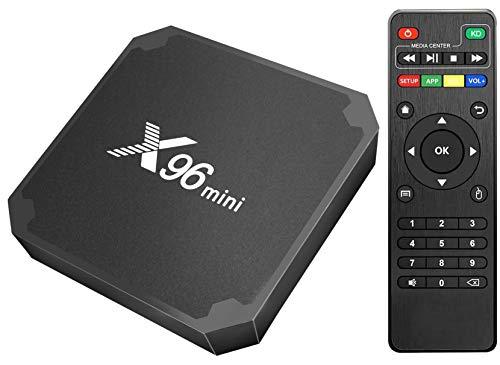 Android TV Box X96 Mini Android Box, Smart Media Player con 1GB de RAM 8GB de ROM Que soporta Smart TV Box 3D/4K/HD