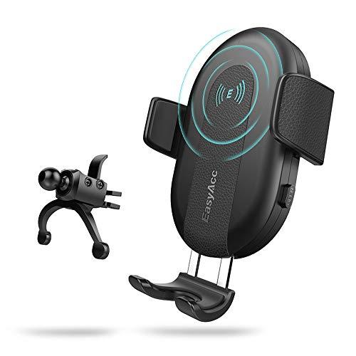 EasyAcc Wireless Auto Halterungen für iPhone XS Max XR X 8 Plus, Samsung S10e S10+ S9 S8 Und Anderen Qi-Fähigen Geräte