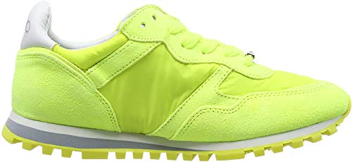 Liu Jo Shoes Alexa-Running, Scarpe da Ginnastica Basse Bambina, Giallo (Yellow Fluo S14f1), 35 EU