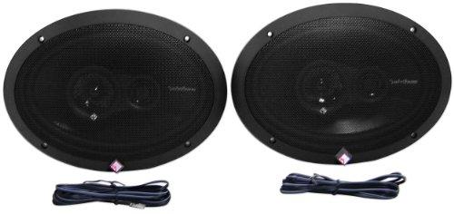 Rockford Fosgate R1693 6x9 Inches Prime Series 3 Way 240 Watt (Pair) Full-range Car Speakers