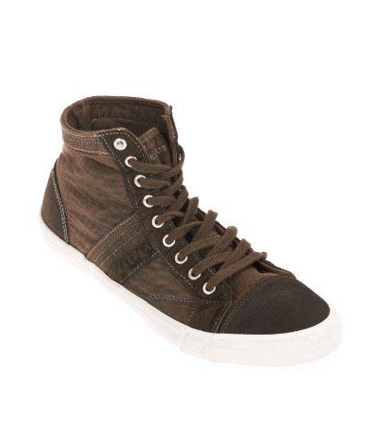 SELECTED HOMME Herren Sneaker high SEL Johns, Brown, 40