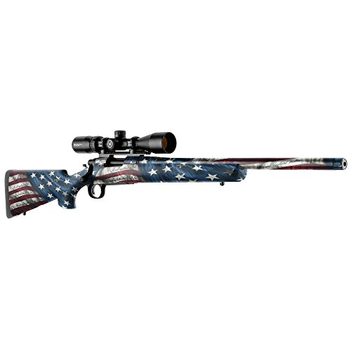 GunSkins Rifle Skin - Premium Vinyl Gun Wrap with Precut Pieces - Easy to Install and Fits Any Rifle - 100% Waterproof Non-Reflective Matte Finish - Made in USA - Proveil Victory