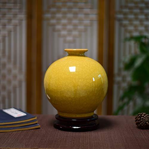 Jarrón de cerámica decorativo para flores