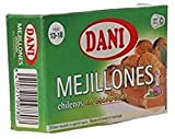 Dani - mejillones 13/18 en escabeche - pack 6 x 106 gr.