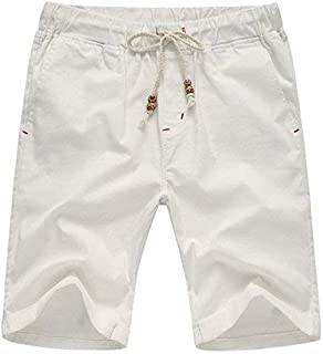 f0dbae2fc5 AIYINO Mens Cotton Casual Classic Fit Summer Shorts