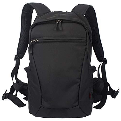 Borsa per fotocamera reflex professionale antifurto, borsa fotografica per fotografia, zaino impermeabile per fotocamera DSLR, rosso-grande (colore : nero, dimensioni: piccolo)