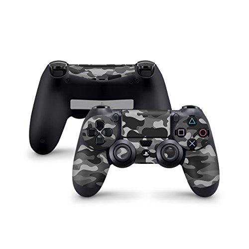 Skins4u Controller Aufkleber Design Schutzfolie Skin kompatibel mit Sony Playstation 4 PS4 Urban Camo