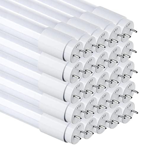 Pack 25x Tubo LED 120cm, 18w. Color Blanco Frio (6500K). Standard T8 G13. 1800 lumenes. Cebador incluido.