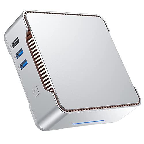 Mini PC,12GB di RAM 128GB di ROM, Intel Celeron J4125 Windows 10 PRO Micro Desktop Computer, Supporto Triplo Display, Dual Band WiFi, 4K UHD, BT 4.2,Office Business Computer