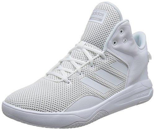 Adidas CF Revival Mid, Zapatillas de Deporte para Hombre, Blanco (Ftwbla/Ftwbla/Gridos 000), 42 2/3 EU