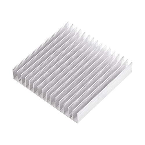 1pc Disipador de calor de aluminio ligero Buena