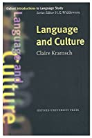 Oxford Introduction to Language Study: Language and Culture