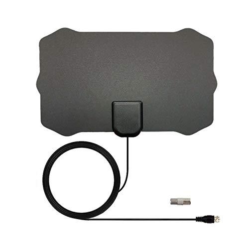 Raburt Antena de cable HDTV 4K reforzada, HD, antena de televisión digital, duradera, ideal para dispositivos domésticos