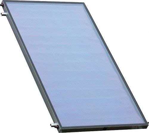 Sunex NX 2.50 Edelstahl Solaranlage Solarpaket, 1-5 Flachkollektoren Solaranlage Warmwasser Größe Solarpaket NX-3-10,12m²