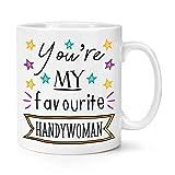 N\A Tazas de café Divertidas y novedosas, Eres mi manitas Favorita Taza de té, Taza, 11 oz, Blanco, Fabricado en EE. UU.