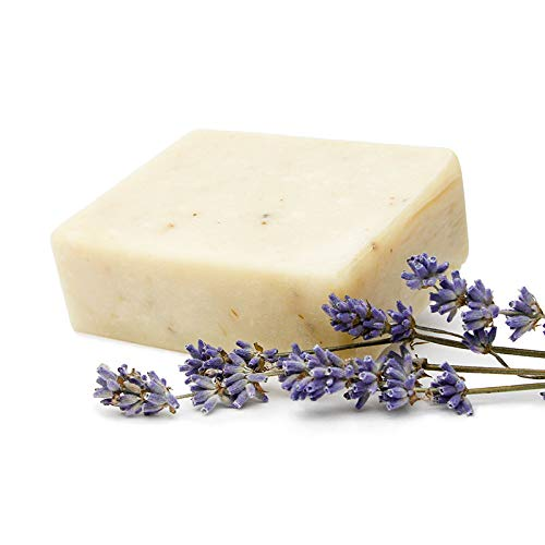 hello simple - Zero Waste Seife - Dusch- und Haarseife - Lavendel (90 g), Naturkosmetik ohne Mikroplastik, vegan, bio, plastikfrei