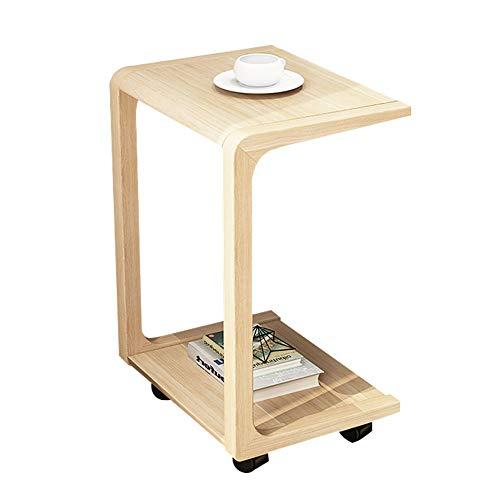 Folding table Beweglicher Betttisch, hölzerner Laptop-Schreibtisch Breite Werkbank Leichte Mehrzweck-Computer-Sofa Beistelltisch
