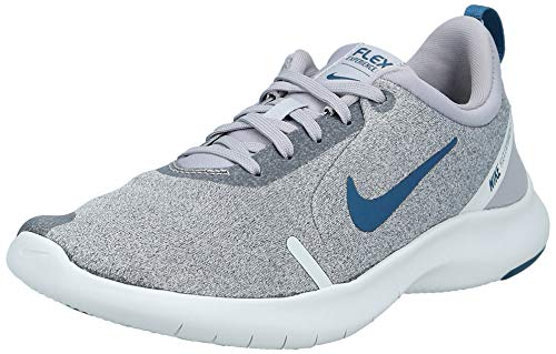 Nike Herren Flex Experience RN 8 Laufschuhe, Grau (Atmosphere Grey/Blue Force/Off Noir/Platinum Tint 006), 44 1/2 EU
