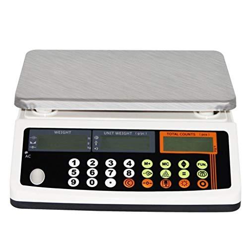 LBBL Balanza Smart Digital Báscula Laboratorio Farmacia Escala De Recuento Electrónico Precisión Báscula Digital Balanza Digital Industrial Pantalla LCD Tara, Cuentapiezas, Acumulación De Pesadas
