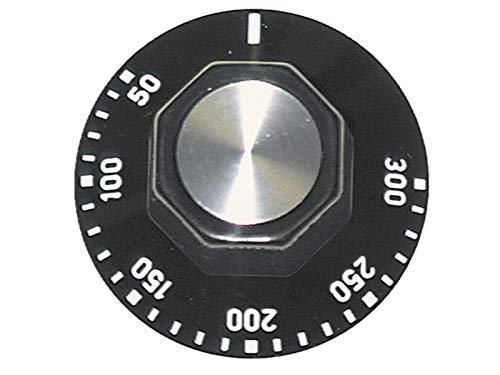 EGO 524807 Knebel Schalter Knopf universal Backofen 50 - 300 °