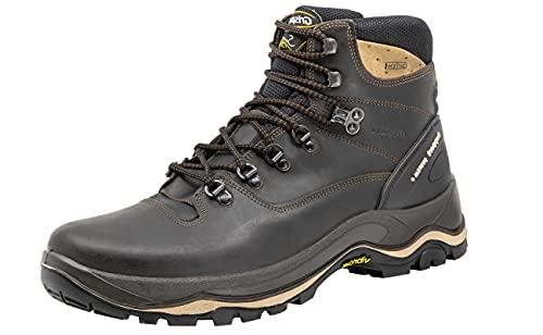 Grisport Dakar - Stivali da trekking per uomo e donna, impermeabili, Marrone (marrone scuro.), 42 EU