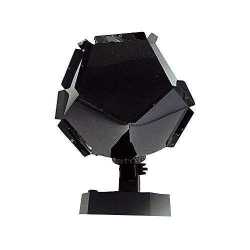 Romántica Planetario Estrella Celeste proyector de luz de la lámpara de noche LED luz intermitente de la estrella de habitaciones Decoración Regalo de Año Nuevo