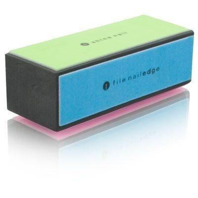 4 Way Shiny Block / 4 Step Buffing Block Shine Nail Buffer - Pedicure, manicure, nail buffer, professional, sanding paper, shiner, cosmetic