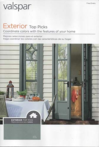Valspar Paint Catalog, Exterior Top Picks, Color Coordinated Combinations, Chips/Samples for Exterior Trim, Decor, Duramax, Ultra, and Reserve Brand Exterior Paints