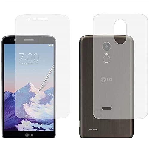 Blue Blood® 360° Buff Guard [Front + Back + Camera Lens] [Not Tempered Glass] Full Body Coverege Screen Protector for LG K10 − List 1093
