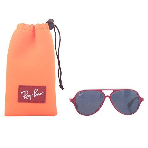 Ray-Ban Mod. 9049S 177/90 Gafas de sol, Rojo, 50 Unisex-Niño