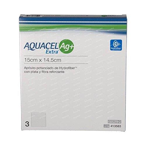 Aquacel Aposito Aquacel Plata Extra 15X14,5Cm 3U 1500 g