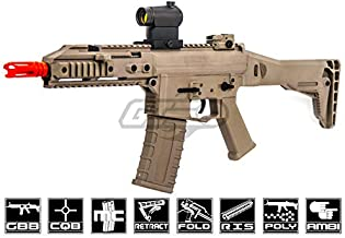 GHK G5 M4 Carbine GBB Airsoft Rifle (Tan)