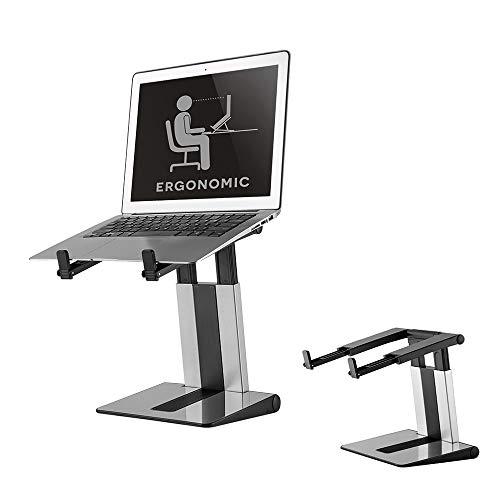 laptop desk stand adjustable height