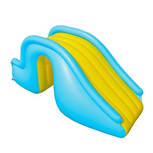 JINGBA Aufblasbare Wasserrutschen for Kinder Hinterhof-Sommer Outdoor-Kinder Spaß Garten Rasen Schwimmbad und Bouncer Wasser Partei Slides (Color : AS)