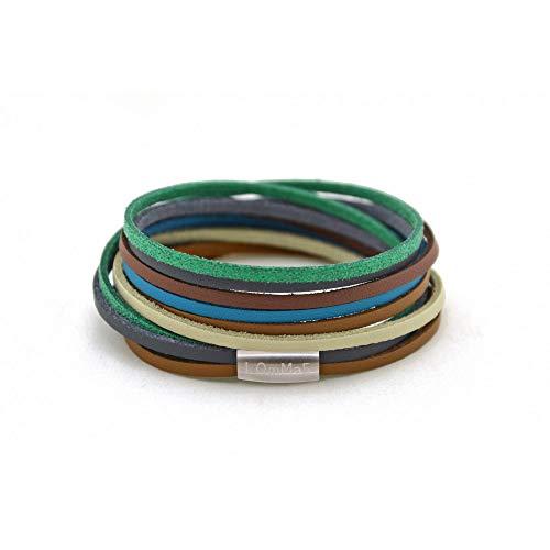 kOmMa5 Design Wickel-Armband Unisex, Evita, S
